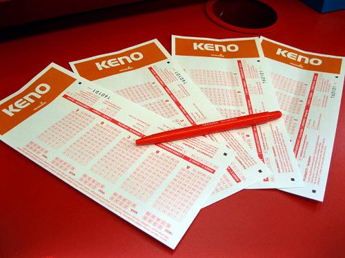 Keno Ticket