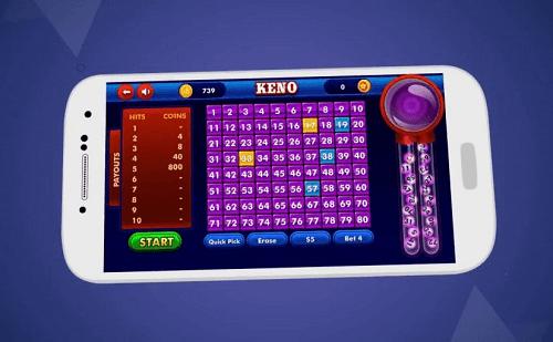 Online Keno for Mobile