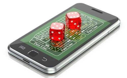 online craps mobile game