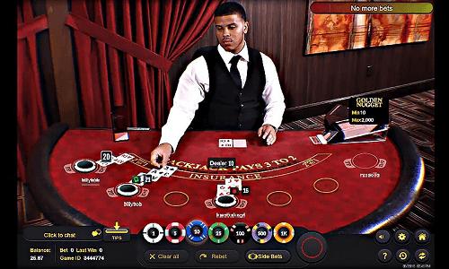 live dealer blackjack online